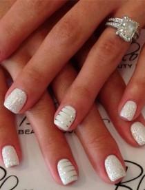 wedding photo - 15 Fabulous Wedding Nail Ideas
