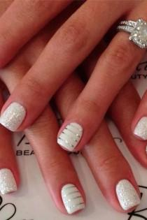 wedding photo - Let's Show You Fifteen Awesome Manicure Ideas For Your Wedding 3