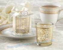 """wedding photo - """"GOLDEN RENAISSANCE"""" GLASS TEALIGHT HOLDER BETER-LZ045..."""