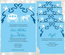 wedding photo - Fairy Tale Weddings - Horse drawn carriage - Inspired by Disney's Princess Cinderella - Edit in Adobe Reader
