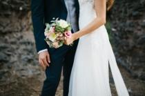 wedding photo - Un abito Yolan Cris per un matrimonio sull'Appia Antica