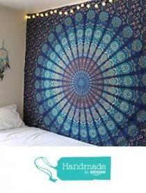 wedding photo - Handmade Cotton Mandala Tapestry
