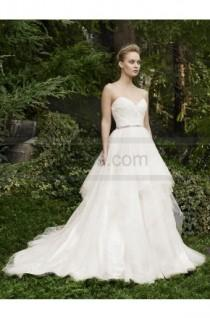 wedding photo - Casablanca Bridal Style 2264 Rosette