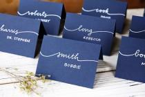 wedding photo - Calligraphy Place Cards
