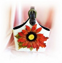 wedding photo - Fall Autumn Weddings Flower Girl Basket