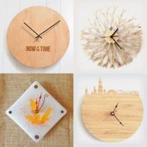 wedding photo - Handmade Wooden Clocks
