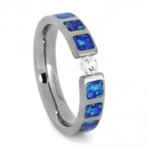 wedding photo - Sapphire Engagement Ring