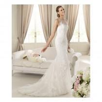 wedding photo - Pronovias Distel Bridal Gown (2013) (PR13_DistelBG) - Crazy Sale Formal Dresses