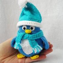 wedding photo - amigurumi penguin stuffed penguin crochet penguin decoration gift Knitted penguin Arctic penguin plush penguin Soft toy kawaii penguin toy