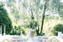 wedding photo - Swedish Spring Garden Wedding Shoot - Weddingomania