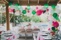wedding photo - Tropical-Inspired Bridal Shower