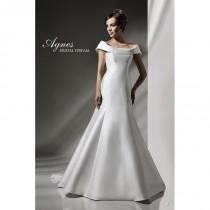 wedding photo - Agnes 10762 Agnes Wedding Dresses Platinium Collection - Rosy Bridesmaid Dresses