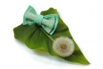 wedding photo - Lightyg Bow tie Men's bow tie Bow ties for men Well to coordinate with Bridesmaid Dresses in Dark green Peacock Jade Turquiose Mint green