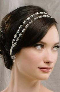 wedding photo - Two Strand Filigree Hair Ribbon