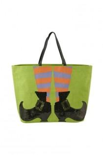 wedding photo - Halloween Witch Tote
