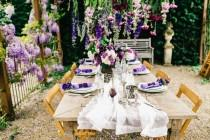wedding photo - Romantic Wisteria Wedding Shoot With French Charm - Weddingomania