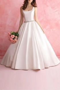wedding photo - Satin Bridal Gown
