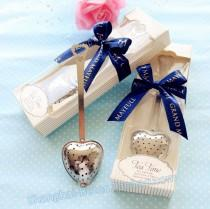 wedding photo -  Bridal Bridesmaids Teatime Tea Infuser Filter Favors   BETER-WJ035