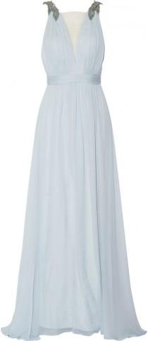 wedding photo - Marchesa Notte Embellished silk gown