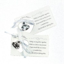 wedding photo - Silver Wedding Mini Bell Decorations Favors