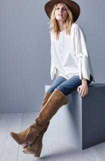 wedding photo - Suede Over The Knee Boot