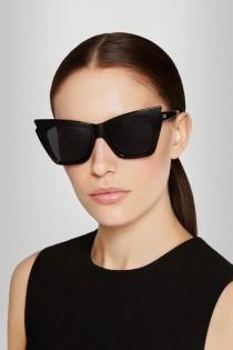 wedding photo - Rapture Cat-Eye Acetate Sunglasses