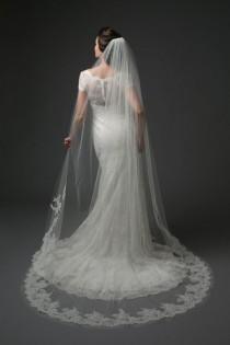 wedding photo - Chapel Length Veil