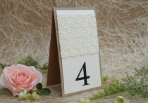 wedding photo - Rustic Lace Table Number, Rustic Table Number, Escort Cards, Wedding Table Numbers, Burlap Table Numbers, Kraft Table Number, Rustic Chic