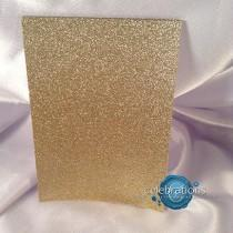 wedding photo - Glitter, Paper, Invitation paper,  A7, scrap booking, Card Stock, Cut 5 x 7, glitter gold silver black card stock packs wedding sparkle