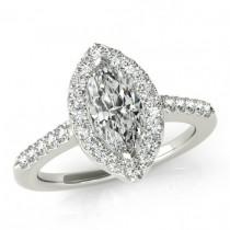 wedding photo - 2.80 Carat Marquise Supernova Moissanite & Diamond Engagement Ring 14k, 18k, or Platinum, Marquise Moissanite Engagement Rings, Cyber Monday