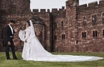 wedding photo - Ciara's Wedding Dress: See The Roberto Cavalli Gown