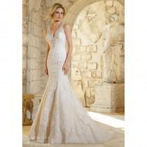 wedding photo - Mori Lee 2786 Keyhole Back Lace Wedding Dress - Crazy Sale Bridal Dresses
