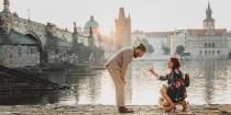 wedding photo - This Woman Spent 2 Years Planning A Picture-Perfect Proposal In Prague