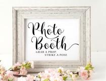 wedding photo - Photo booth Sign