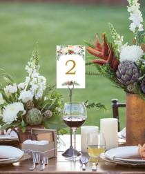 wedding photo - Table Numbers - Wedding Table Numbers - 4x6 Wedding Table Signs 1-40 - Reserved Sign - Head Table - Instant Download - Winter Berry