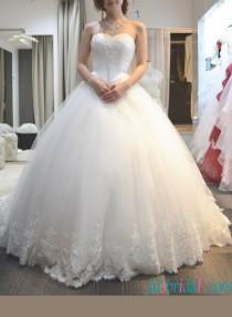 wedding photo - Sweety full princess tulle ball gown wedding dress