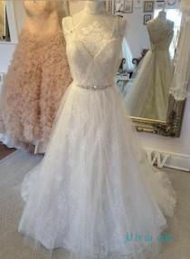 wedding photo - sexy simple open back lace boho wedding dress