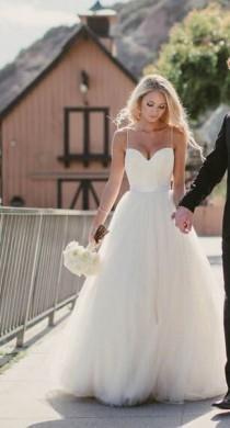 wedding photo - Mesmerizing Wedding Dress Ideas That Would Make You A Fairy Princess