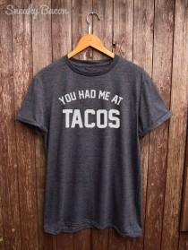 wedding photo - Tacos tshirt - perfect for tacos lover, funny t-shirts, foodie gifts, tacos shirt, mexican food, tacos print, food tshirt, graphic tees