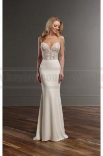 64318433b72 Martina Liana Glamorous Lace Wedding Separates Style Bryce Sanja