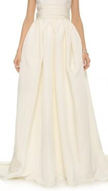 wedding photo - Marchesa Silk Faille Ballgown Skirt