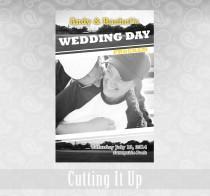 wedding photo - Baseball Wedding Program, Baseball Wedding Favor, Softball Wedding Favor, Sports Wedding Theme, Magazine, Photo, Pittsburgh Pirates, MLB