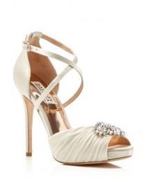 wedding photo - Badgley Mischka Cacique Jeweled High Heel Pumps