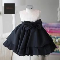 wedding photo - Flower girl Dress, Junior Bridesmaid dress, Christening dress, Baby flower girl Dress, tulle Flower girl Dress, birthday party dress