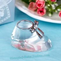 wedding photo - Beter Gifts® #Crystalshoes #Girlsbirthday #Bridalshower #BirthdaySouvenir #Babyshower Keepsakes favors BETER-SJ017