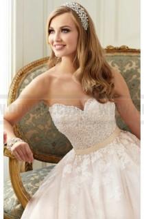 wedding photo - Stella York Tulle Princess Wedding Dress Style 6098
