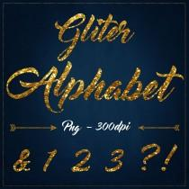 wedding photo - Gold Glitter alphabet clipart Digita glitter Clipart Gold Gliter overlays gold glitter letters clipart Gold Sparkle Font scrapbook alphabet