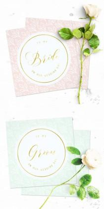 wedding photo -  Wedding day card