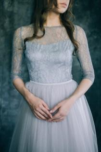 "wedding photo - Wedding dress ""Grey Quartz"""