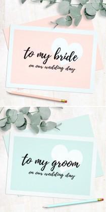 wedding photo -  Cute Modern Script Style Wedding Day Cards